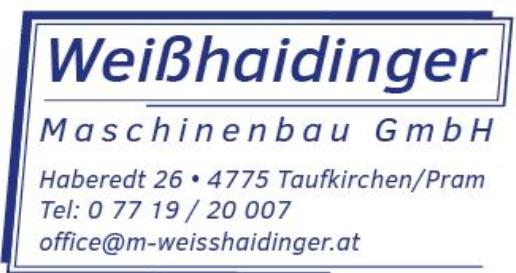 Weisshaidinger Maschinenbau